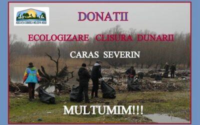 Ecologizarea Clisurii Dunării – DONEAZĂ!