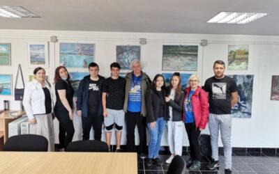 Activități cu elevii voluntari în Clisura Dunării